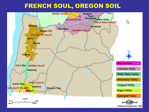 french soul, Oregon soil